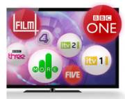 TV Set with Freeview Channels